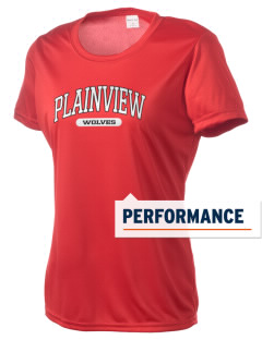 Plainview Elementary School Wolves Women's Competitor Performance T-Shirt
