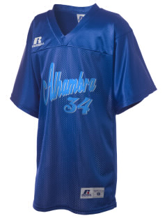 Alhambra Adult School Alhambra Russell Kid's Replica Football Jersey