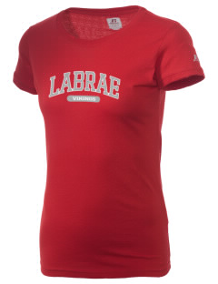 Labrae Middle School Vikings  Russell Women's Campus T-Shirt