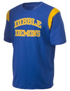 Dibble Senior High School Demons Holloway Men's Rush T-Shirt