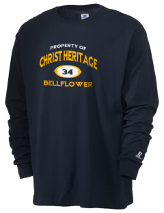 Christ Heritage Academy Bellflower  Russell Men's Long Sleeve T-Shirt