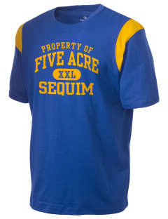 Five Acre School Sequim Holloway Men's Rush T-Shirt