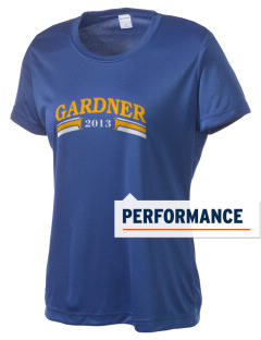Sunflower Elementary Gardner Women's Competitor Performance T-Shirt