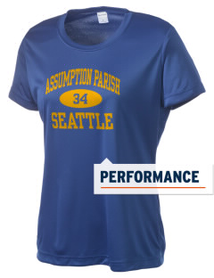 Assumption Parish Seattle Women's Competitor Performance T-Shirt