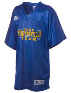 Christ The King Parish Tompkinsville Russell Kid's Replica Football Jersey