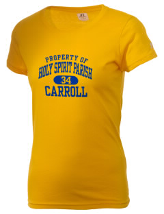 Holy Spirit Parish Carroll  Russell Women's Campus T-Shirt