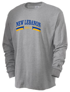 Immaculate Conception Parish (1871) New Lebanon  Russell Men's Long Sleeve T-Shirt