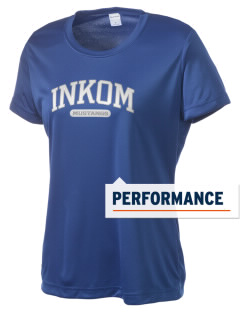 Inkom Elementary School Mustangs Women's Competitor Performance T-Shirt