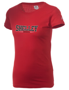 Shelley Senior High School Russets  Russell Women's Campus T-Shirt