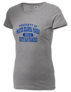 Mater Dolorosa Parish South San Francisco  Russell Women's Campus T-Shirt