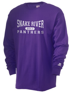 Snake River High School Panthers  Russell Men's Long Sleeve T-Shirt