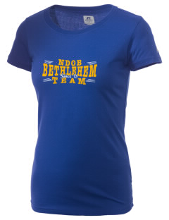 Notre Dame of Bethlehem Church Bethlehem  Russell Women's Campus T-Shirt