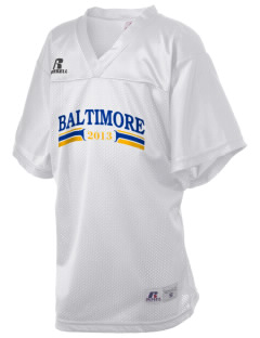 Our Lady of Fatima Parish Baltimore Russell Kid's Replica Football Jersey