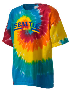 Our Lady of Fatima Parish Seattle Kid's Tie-Dye T-Shirt