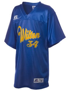 Our Lady of Fatima Parish Wilton Russell Kid's Replica Football Jersey