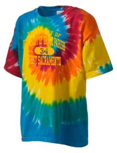 Our Lady of Grace Parish West Sacramento Kid's Tie-Dye T-Shirt