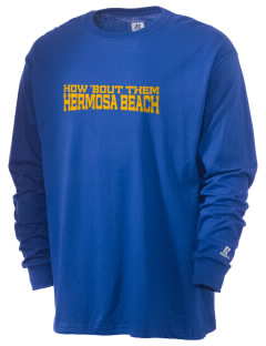 Our Lady of Guadalupe Parish Hermosa Beach  Russell Men's Long Sleeve T-Shirt