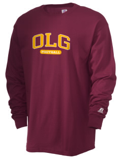Our Lady of Guadalupe School OLG  Russell Men's Long Sleeve T-Shirt