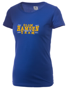 Our Lady of Mount Carmel Parish Hamden  Russell Women's Campus T-Shirt
