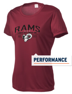 Clearwater Valley Elementary School Rams Women's Competitor Performance T-Shirt