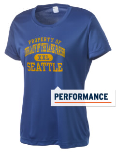 Our Lady of The Lake Parish Seattle Women's Competitor Performance T-Shirt