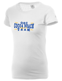 Our Saviour's Catholic Community Cocoa Beach  Russell Women's Campus T-Shirt