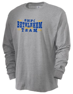 Sacred Heart Parish (1936) (Miller Hgts) Bethlehem  Russell Men's Long Sleeve T-Shirt