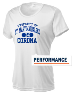 Saint Mary Magdalene Corona Women's Competitor Performance T-Shirt