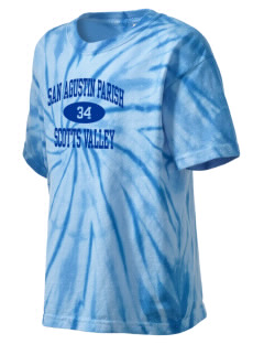 San Agustin Parish Scotts Valley Kid's Tie-Dye T-Shirt