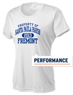 Santa Paula Parish Fremont Women's Competitor Performance T-Shirt