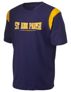 St Ann Parish Peoria Holloway Men's Rush T-Shirt
