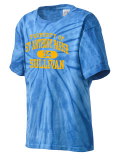 St Anthony Parish Sullivan Kid's Tie-Dye T-Shirt