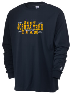 St Christopher of The Desert Parish Joshua Tree  Russell Men's Long Sleeve T-Shirt