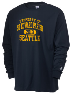 St Edward Parish Seattle  Russell Men's Long Sleeve T-Shirt