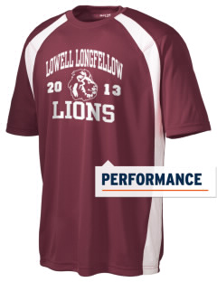 Lowell Longfellow Elementary School Lions Men's Dry Zone Colorblock T-Shirt