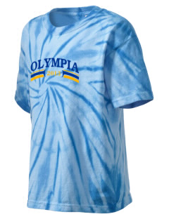 St George Byzantine Parish Olympia Kid's Tie-Dye T-Shirt