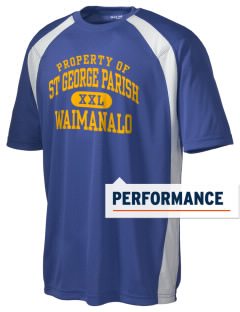 St George Parish Waimanalo Men's Dry Zone Colorblock T-Shirt