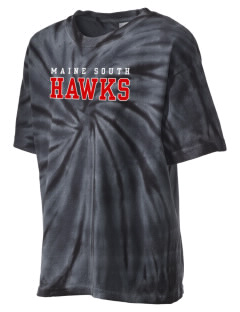Maine South High School Hawks Kid's Tie-Dye T-Shirt