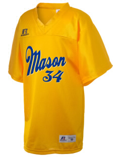 St Joseph Parish (Hispanic) Mason Russell Kid's Replica Football Jersey