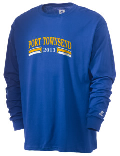 St Mary Star of The Sea Parish Port Townsend  Russell Men's Long Sleeve T-Shirt