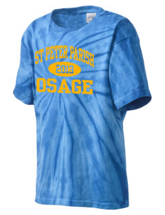 St Peter Parish Osage Kid's Tie-Dye T-Shirt
