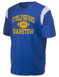 St Phillip Neri Parish Barstow Holloway Men's Rush T-Shirt