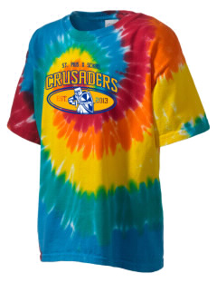 St. Pius X School Crusaders Kid's Tie-Dye T-Shirt
