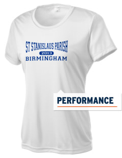 St Stanislaus Parish Birmingham Women's Competitor Performance T-Shirt