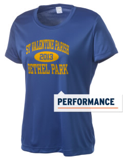 St Valentine Parish Bethel Park Women's Competitor Performance T-Shirt