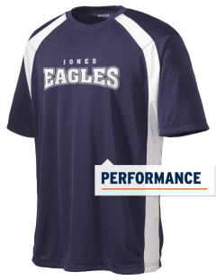 Jones College Prep Eagles Men's Dry Zone Colorblock T-Shirt
