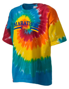 St. Stehpen's Church Marathon Kid's Tie-Dye T-Shirt