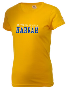 St. Teresa of Avila Harrah  Russell Women's Campus T-Shirt