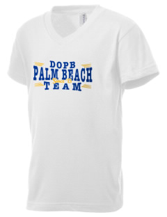 Diocese of Palm Beach Palm Beach Kid's V-Neck Jersey T-Shirt