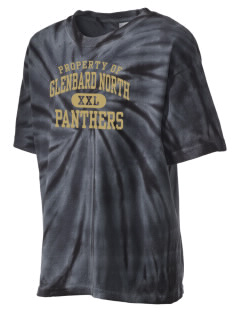 Glenbard North High School Panthers Kid's Tie-Dye T-Shirt